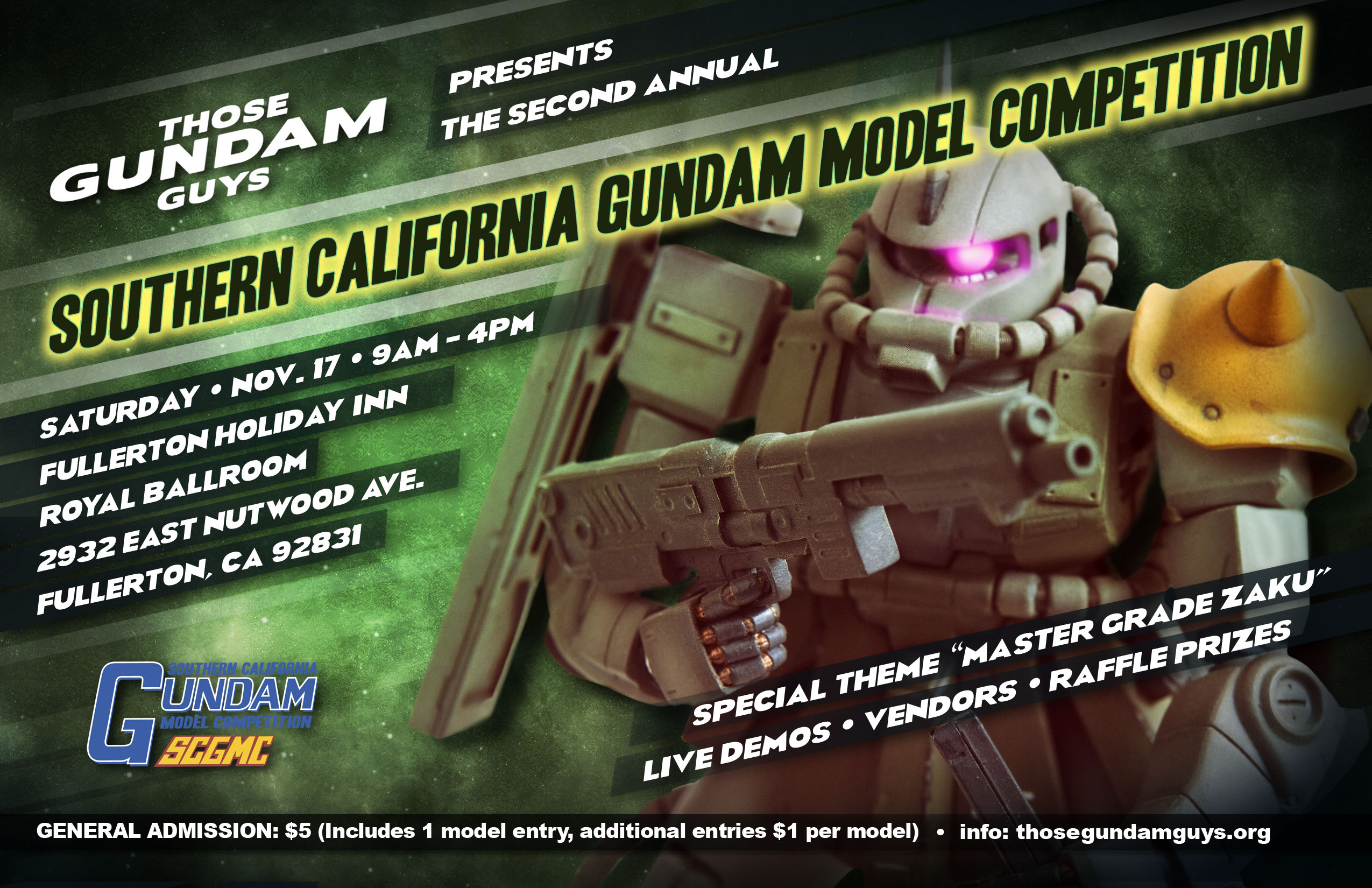 2nd Annual Southern California Gundam Model Competition (SCGMC part deux!)